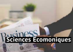 Sciences SCIENCES ECONOMIQUES